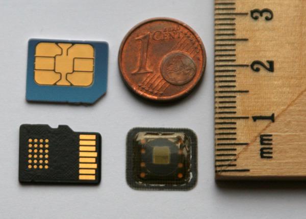 Размер SIM-карт